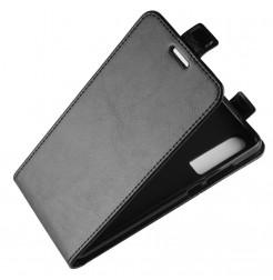 16642 - MadPhone Flip кожен калъф за Huawei P30