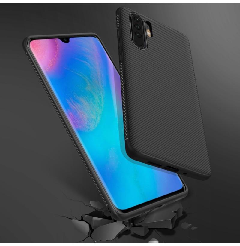 16861 - MadPhone релефен TPU калъф за Huawei P30 Pro