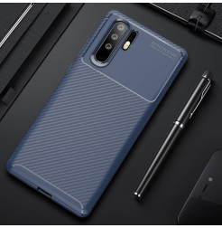 16896 - iPaky Carbon силиконов кейс калъф за Huawei P30 Pro