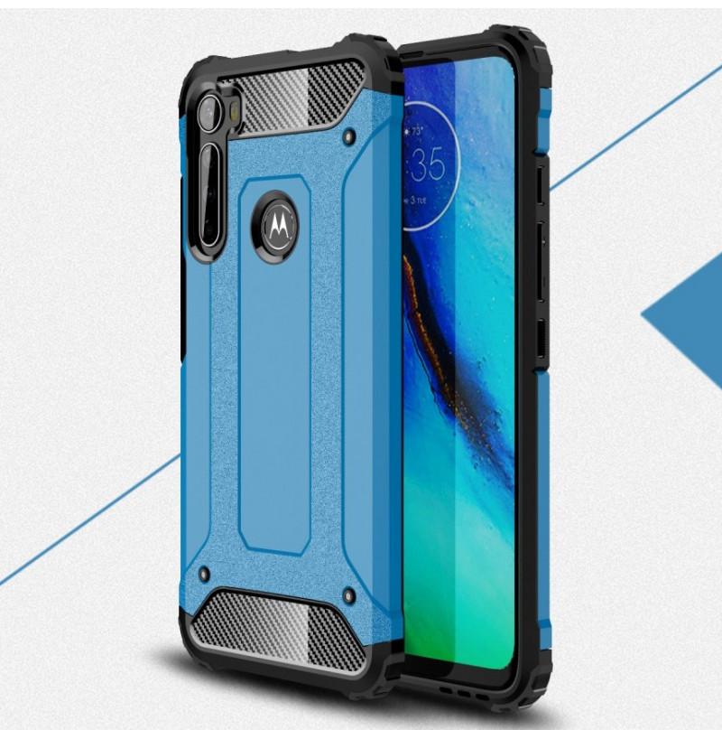 17053 - MadPhone Armor хибриден калъф за Motorola One Fusion+ Plus