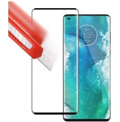 17082 - 3D стъклен протектор за целия дисплей Motorola Edge