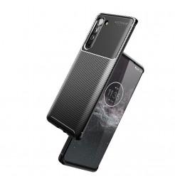 17115 - iPaky Carbon силиконов кейс калъф за Motorola Edge