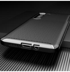 17118 - iPaky Carbon силиконов кейс калъф за Motorola Edge