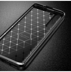 17119 - iPaky Carbon силиконов кейс калъф за Motorola Edge