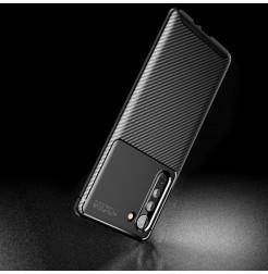 17120 - iPaky Carbon силиконов кейс калъф за Motorola Edge
