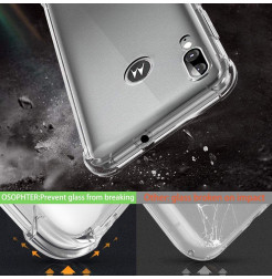 17186 - MadPhone удароустойчив силиконов калъф за Motorola Moto E6s / E6 Plus