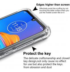 17188 - MadPhone удароустойчив силиконов калъф за Motorola Moto E6s / E6 Plus