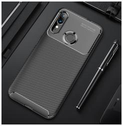 17225 - iPaky Carbon силиконов кейс калъф за Motorola Moto E6s / E6 Plus