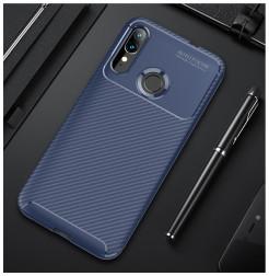 17233 - iPaky Carbon силиконов кейс калъф за Motorola Moto E6s / E6 Plus