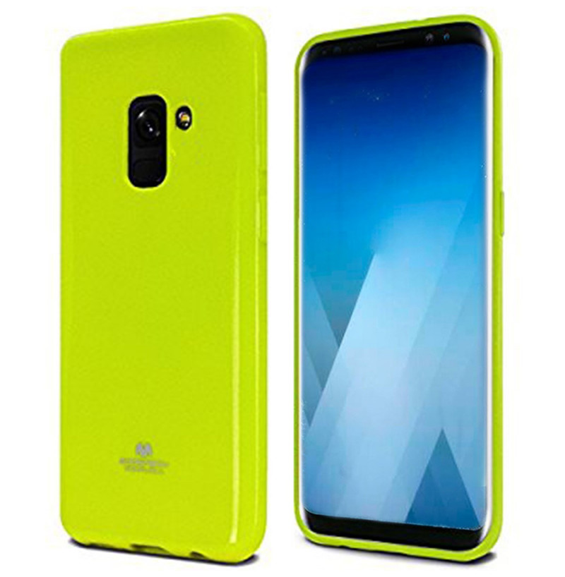1726 - Mercury Goospery Jelly Case за Samsung Galaxy A8 (2018)