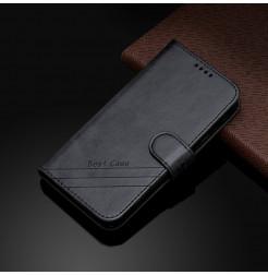 17275 - MadPhone Classic кожен калъф за Motorola Moto E6s / E6 Plus