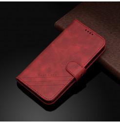17285 - MadPhone Classic кожен калъф за Motorola Moto E6s / E6 Plus