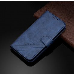17295 - MadPhone Classic кожен калъф за Motorola Moto E6s / E6 Plus