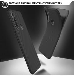 17313 - MadPhone релефен TPU калъф за Motorola Moto G8 Power