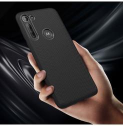 17315 - MadPhone релефен TPU калъф за Motorola Moto G8 Power