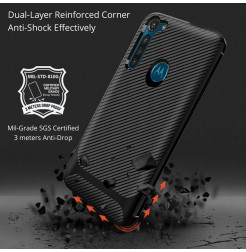 17327 - MadPhone Anti Drop TPU силиконов кейс за Motorola Moto G8 Power