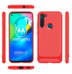 17334 - MadPhone Anti Drop TPU силиконов кейс за Motorola Moto G8 Power