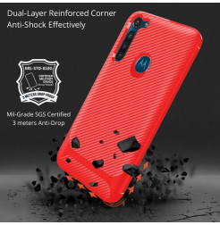 17336 - MadPhone Anti Drop TPU силиконов кейс за Motorola Moto G8 Power