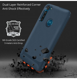 17347 - MadPhone Anti Drop TPU силиконов кейс за Motorola Moto G8 Power