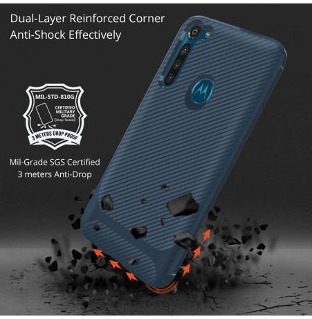 17347 - MadPhone Anti Drop TPU силиконов кейс за Motorola Moto G8 Power