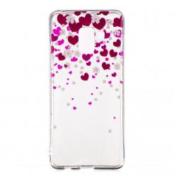 1735 - MadPhone Art силиконов кейс с картинки за Samsung Galaxy A8 (2018)