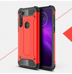 17425 - MadPhone Armor хибриден калъф за Motorola Moto G8 Power