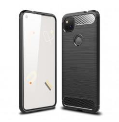 17507 - MadPhone Carbon силиконов кейс за Google Pixel 4a