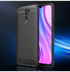 17649 - MadPhone Carbon силиконов кейс за Xiaomi Redmi 9