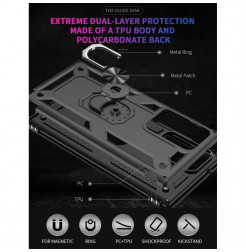 17823 - MadPhone Lithium удароустойчив калъф за Samsung Galaxy Note 20 Ultra