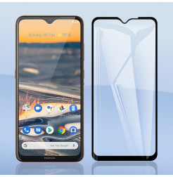 18196 - 3D стъклен протектор за целия дисплей Nokia 5.3