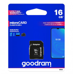 18305 - Goodram Microcard micro SD XC UHS-I class 10 - 16GB