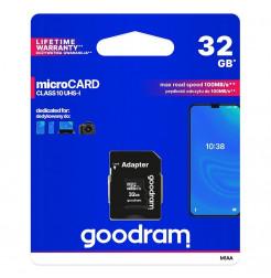 18315 - Goodram Microcard micro SD XC UHS-I class 10 - 32GB