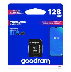 18322 - Goodram Microcard micro SD XC UHS-I class 10 - 128GB
