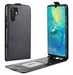 18419 - MadPhone Flip кожен калъф за Huawei P30 Pro