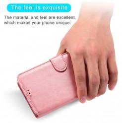 18974 - MadPhone Classic кожен калъф за Xiaomi Redmi Note 9S / 9 Pro / Max