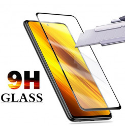 19506 - 3D стъклен протектор за целия дисплей Xiaomi Poco X3 NFC