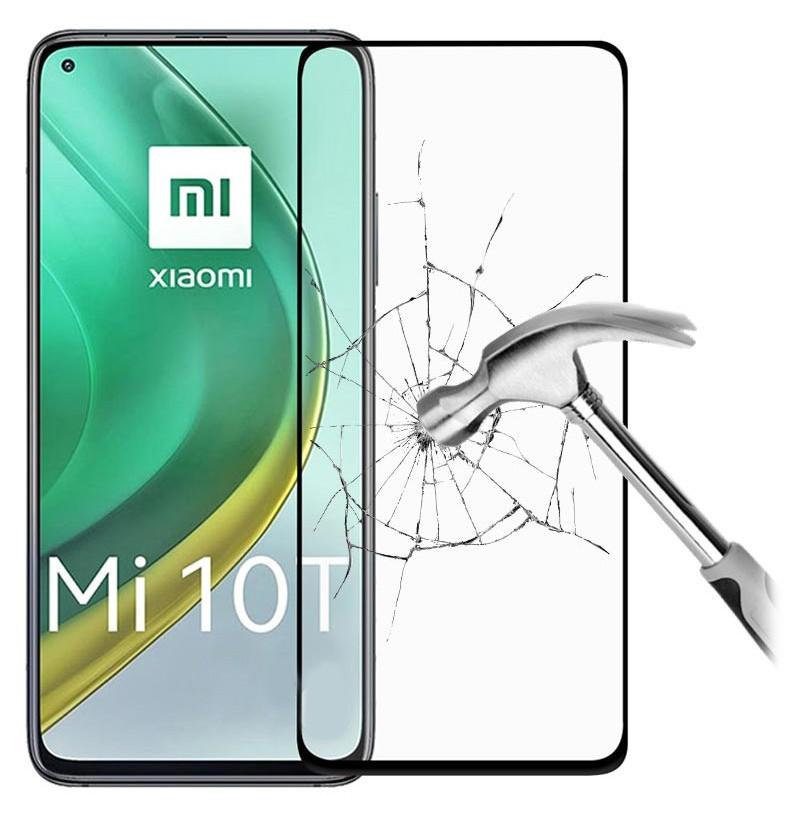 19683 - 3D стъклен протектор за целия дисплей Xiaomi Mi 10T / Mi 10T Pro