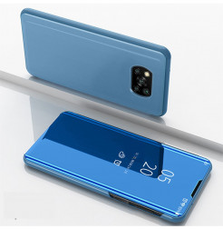 19849 - MadPhone ClearView калъф тефтер за Xiaomi Poco X3 NFC
