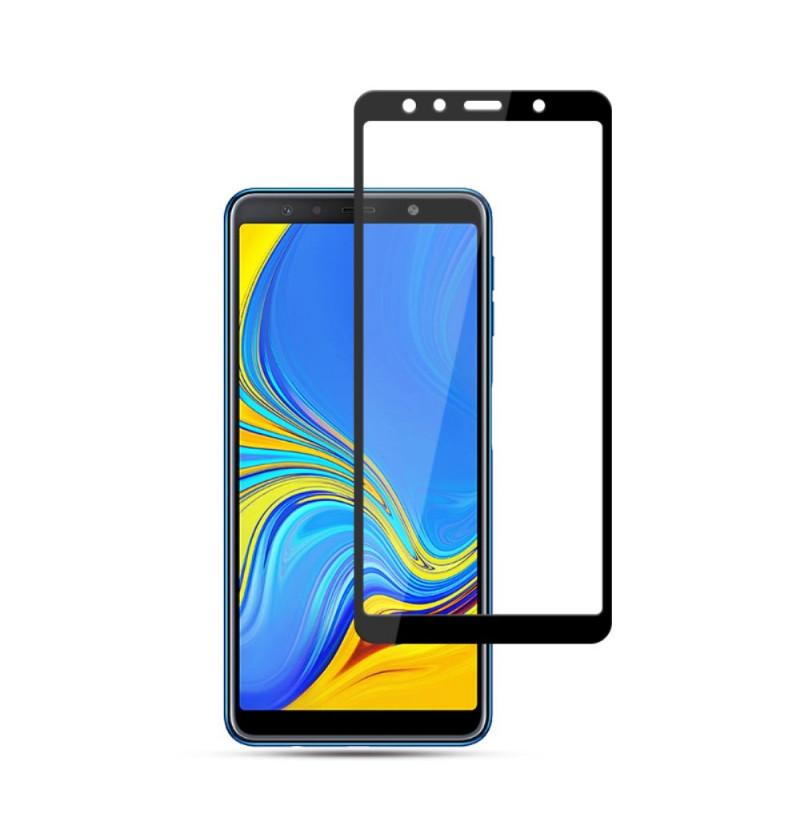 1992 - 3D стъклен протектор за целия дисплей Samsung Galaxy A7 (2018)