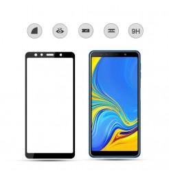 1993 - 3D стъклен протектор за целия дисплей Samsung Galaxy A7 (2018)