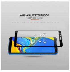 1994 - 3D стъклен протектор за целия дисплей Samsung Galaxy A7 (2018)