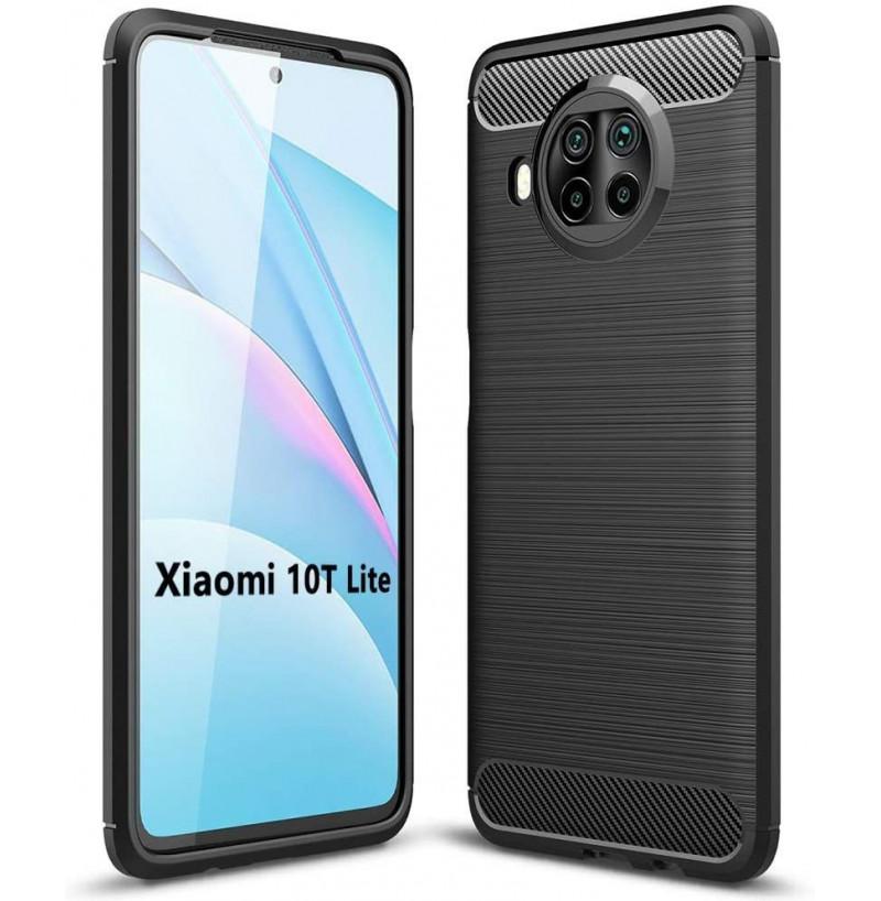 20217 - MadPhone Carbon силиконов кейс за Xiaomi Mi 10T Lite