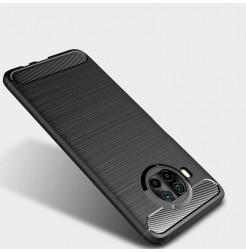 20218 - MadPhone Carbon силиконов кейс за Xiaomi Mi 10T Lite