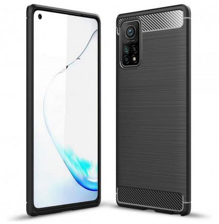 20228 - MadPhone Carbon силиконов кейс за Xiaomi Mi 10T / Mi 10T Pro