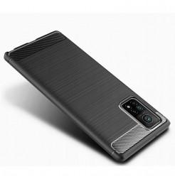 20229 - MadPhone Carbon силиконов кейс за Xiaomi Mi 10T / Mi 10T Pro
