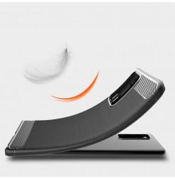 20231 - MadPhone Carbon силиконов кейс за Xiaomi Mi 10T / Mi 10T Pro