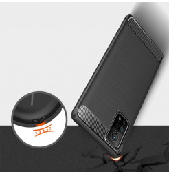 20232 - MadPhone Carbon силиконов кейс за Xiaomi Mi 10T / Mi 10T Pro