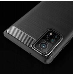 20233 - MadPhone Carbon силиконов кейс за Xiaomi Mi 10T / Mi 10T Pro
