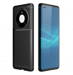 20277 - iPaky Carbon силиконов кейс калъф за Huawei Mate 40 Pro