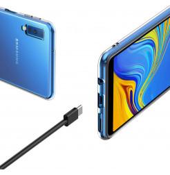 2030 - MadPhone супер слим силиконов гръб за Samsung Galaxy A7 (2018)